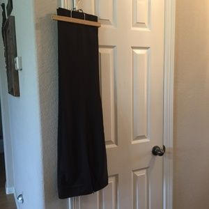 Talbots Brown Wool Side Zip pants 8P